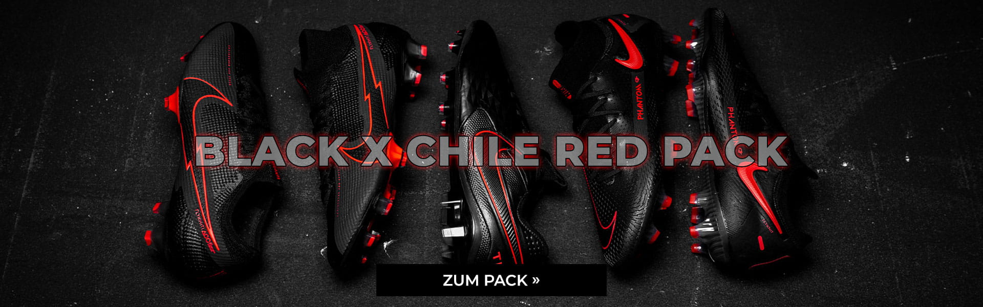Nike Black X Chile Red Pack