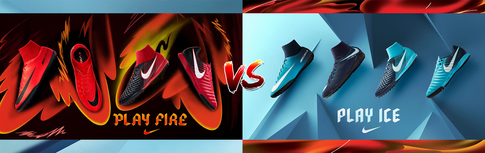 NIKE Fire And Ice Pack