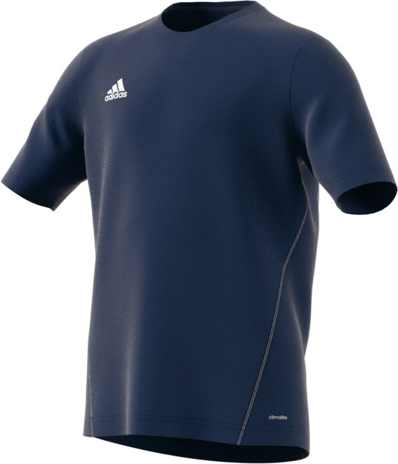 Adidas Core 15 Kinder Training Trikot dark blue weiß