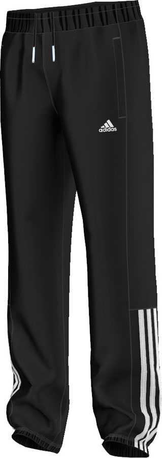 Adidas Essentials Mid 3S Kinder Sweat Pants CH schwarz weiß