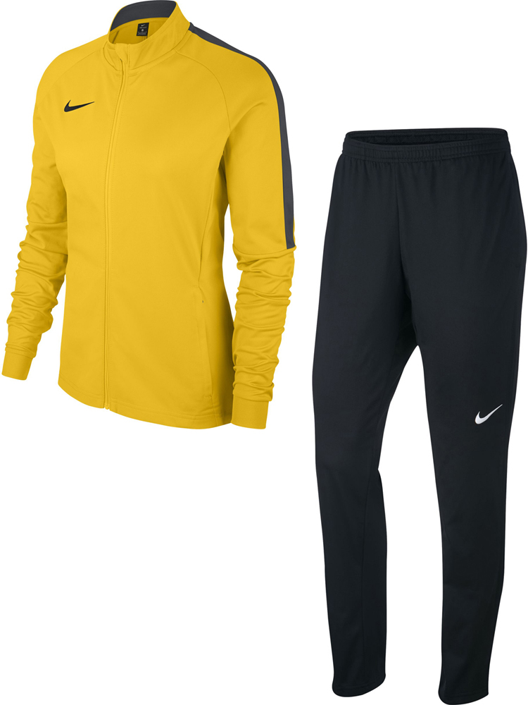 Nike Academy 18 Damen Trainingsanzug tour yellow schwarz