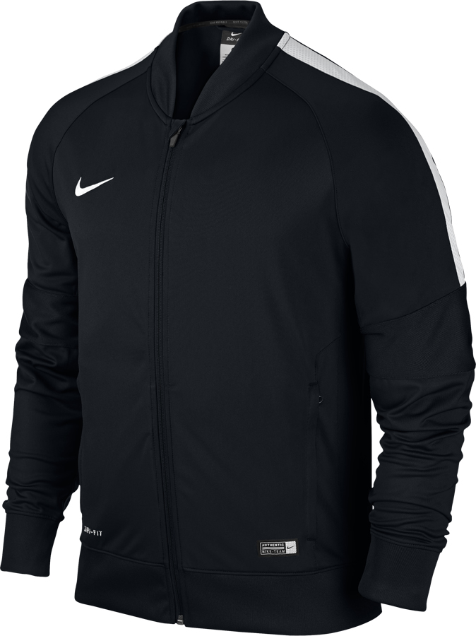 nike squad 15 herren trainingsjacke schwarz wei. Black Bedroom Furniture Sets. Home Design Ideas