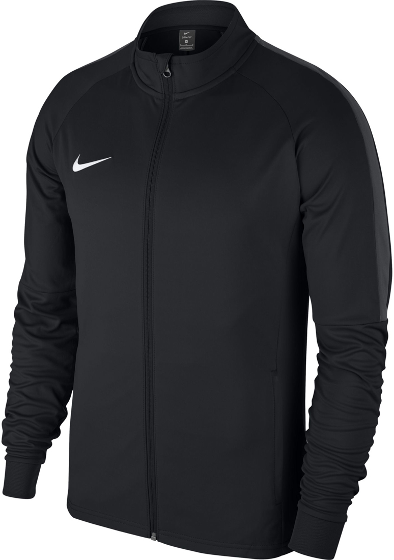 nike academy 18 herren trainingsjacke schwarz wei. Black Bedroom Furniture Sets. Home Design Ideas