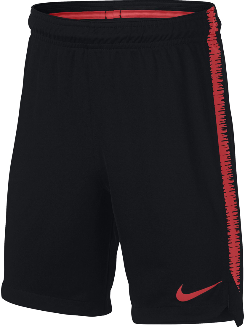 3f58fcb7cd4f49 Nike Dry Squad Kinder Fußball Shorts schwarz-light crimson ...