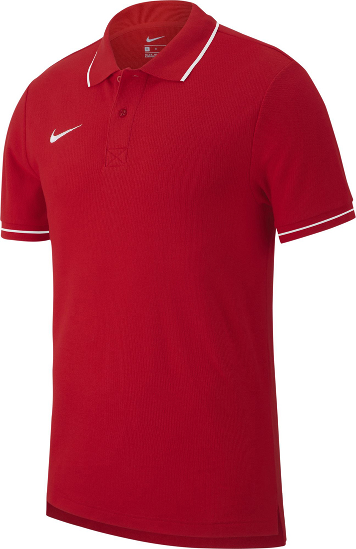 631e7a29 Nike Team Club 19 Kinder Polo university red-weiß | Fussball-Shop.de