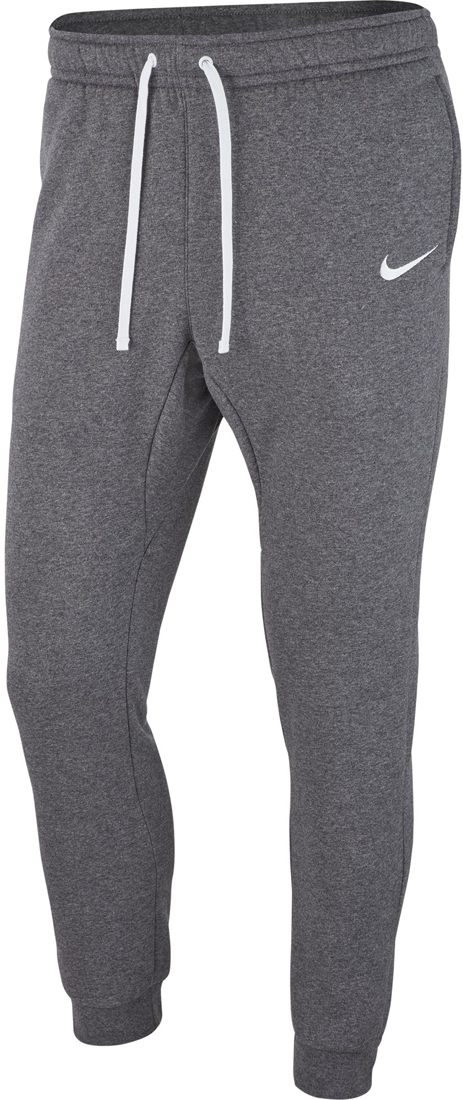 Nike Team Club 19 Kinder Fleece Pants charcoal heather weiß