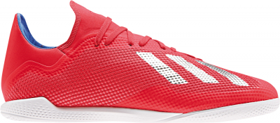 Adidas X 18.3 IN Fußballschuh active red-silver metallic