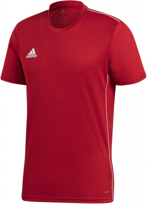 Adidas Core 18 Trikot power red-weiß