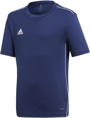 Adidas Core 18 Kinder Trikot dark blue-weiß
