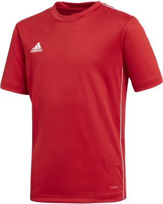 Adidas Core 18 Kinder Trikot power red-weiß