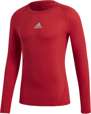 Adidas Alphaskin Langarm Shirt power red