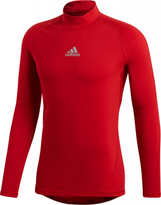 Adidas Alphaskin Langarm Top power red