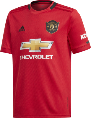Adidas Manchester United Kinder Heimtrikot 19/20 real red