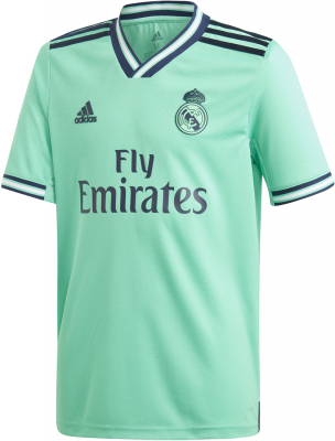 Adidas Real Madrid Kinder Ausweichtrikot 19/20 hi-res green