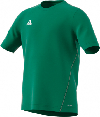 Adidas Core 15 Kinder Training Trikot bold green-weiß