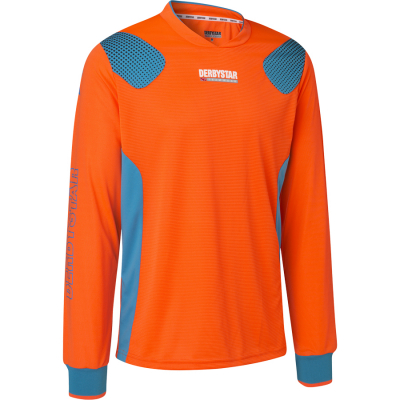 Derbystar Aponi Pro Torwarttrikot orange-petrol
