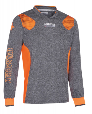 Derbystar Defense Pro Torwarttrikot grau-orange
