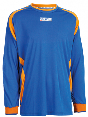 Derbystar Aponi Torwarttrikot blau-orange