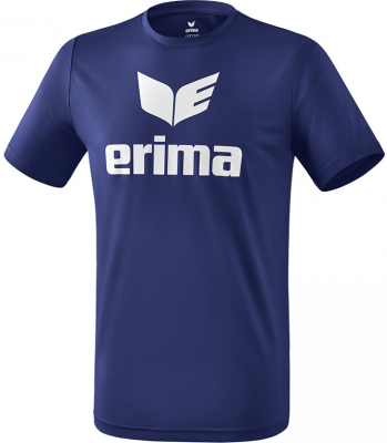 Erima Funktions Promo T-Shirt new navy-weiß