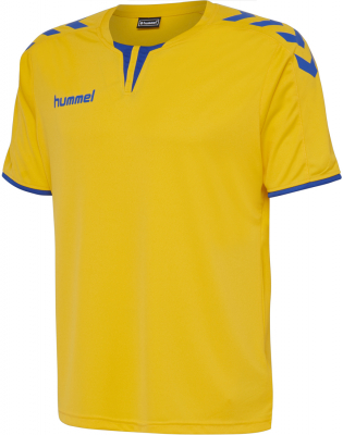 Hummel Core Poly Trikot sports yellow-true blue pr
