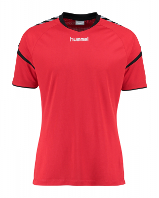 Hummel Authentic Charge Poly Trikot true red