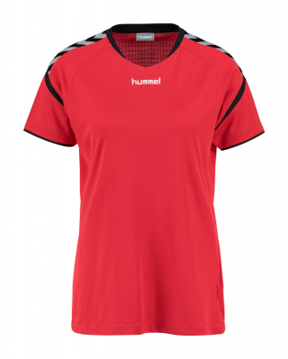 Hummel Authentic Charge Damen Poly Trikot true red