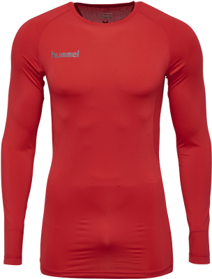 Hummel First Performance Langarm Funktions Jersey true red