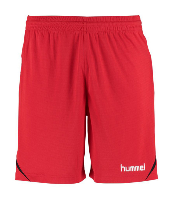 Hummel Authentic Charge Poly Shorts true red