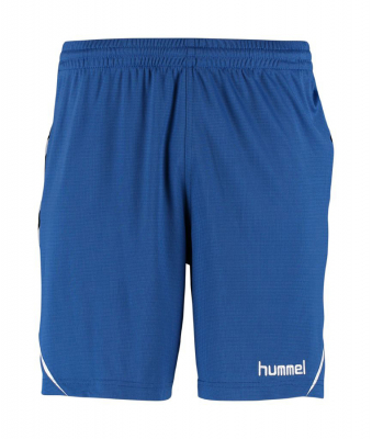 Hummel Authentic Charge Poly Shorts true blue
