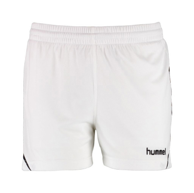 Hummel Authentic Charge Damen Poly Shorts weiß