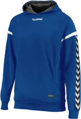Hummel Authentic Charge Poly Hoodie true blue