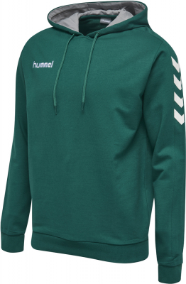Hummel Core Cotton Hoodie evergreen
