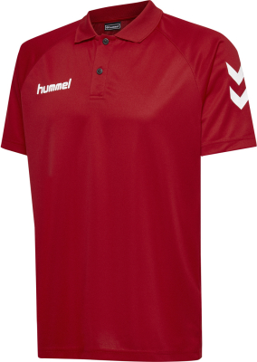 Hummel Core Functional Polo true red