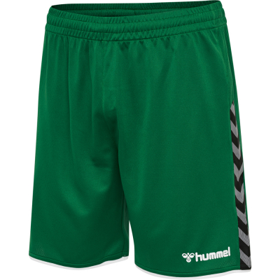 Hummel Herren Poly Shorts Authentic grün