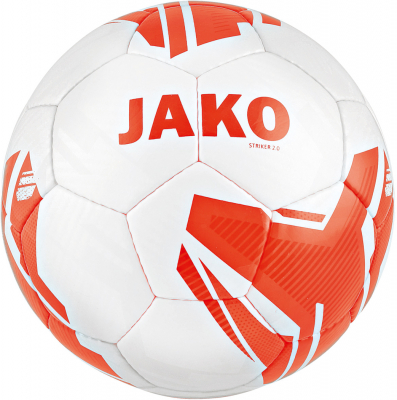 Jako Striker 2.0 MS Light 290g Fußball Gr.5 weiß-flame 5