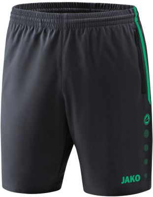 Jako Competition 2.0 Shorts anthrazit-türkis