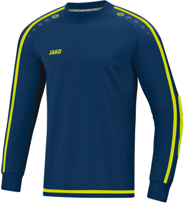Jako Striker 2.0 Torwart-Trikot navy-lemon