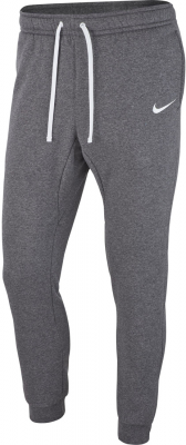 Nike Team Club 19 Fleece Pants charcoal heather-weiß