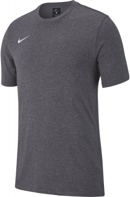 Nike Team Club 19 T-Shirt charcoal heather-weiß