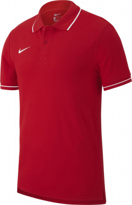 Nike Team Club 19 Kinder Polo university red-weiß
