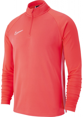 Nike Academy 19 Kinder Drill Langarm Top bright crimson-weiß