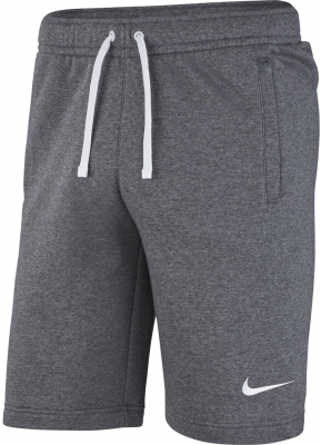 Nike Team Club 19 Kinder Fleece Shorts charcoal heather