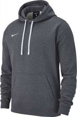 Nike Team Club 19 Hoodie charcoal heather-anthrazit