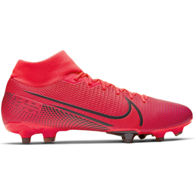 Nike MG Fußballschuh Mercurial Superfly 7 Academy rot