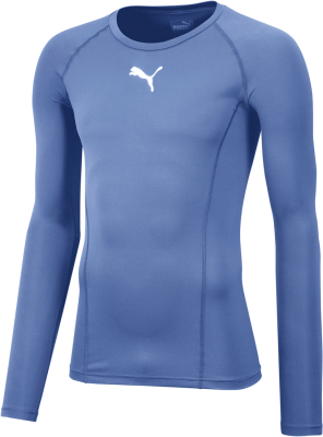 Puma Liga Baselayer Langarm Shirt silver lake blue