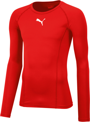 Puma Liga Baselayer Kinder Langarm Shirt puma red
