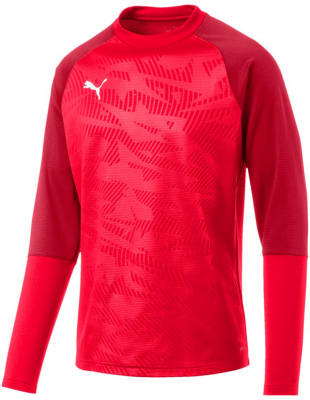 Puma Cup Core Training Sweatshirt puma red-chili pepper