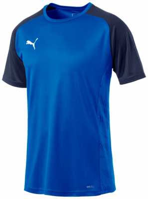 Puma Cup Core Sideline T-Shirt electric blue lemonade