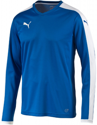Puma Pitch Langarm Trikot puma royal-weiß