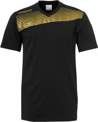 Uhlsport Liga 2.0 Training T-Shirt schwarz-gold